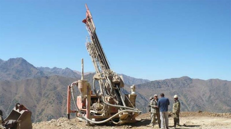 White Cliff Minerals (ASX:WCN) drilling in Central Asia
