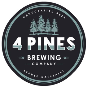 4 Pines Brewing Company logo.