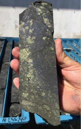 High grade metal ore