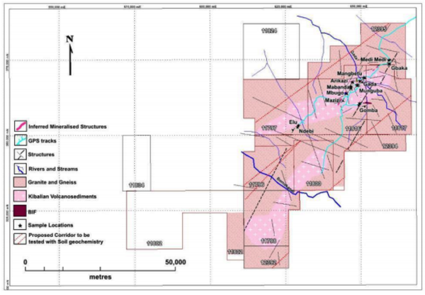 ANL has a highly prospective gold mineralisation package.