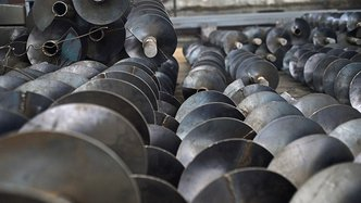auroch minerals drill rig