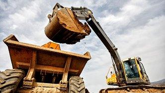 Mining machinery in NSW