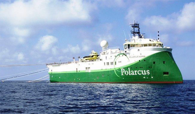 AVD Polarcus ship
