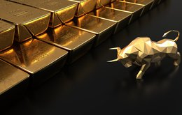Gold price up
