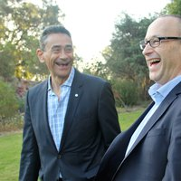 Akram (L) and Lui (R) having a laugh.jpg
