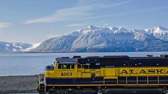 Alaska railroad travels picturesque