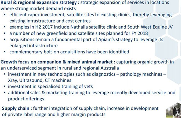 apiam expansion strategy
