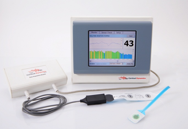 Cortical Brain Anaesthesia Response Monitor (BARM)