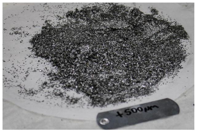 Razafy +500μm graphite concentrate.