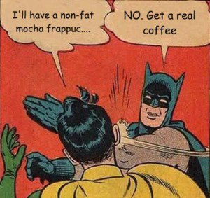 Batman speaks for himself.