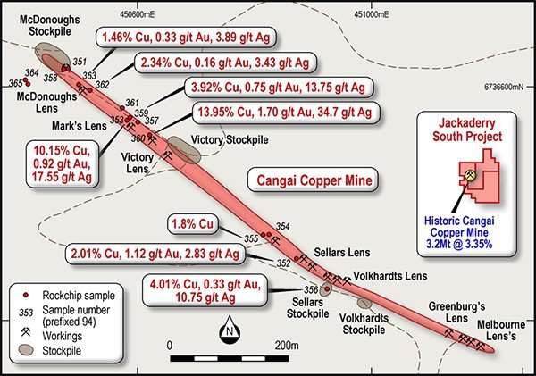 cangai mine drill program