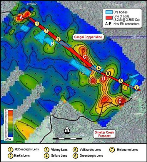 castillo copper drilling program
