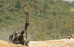 Mining drilling rig