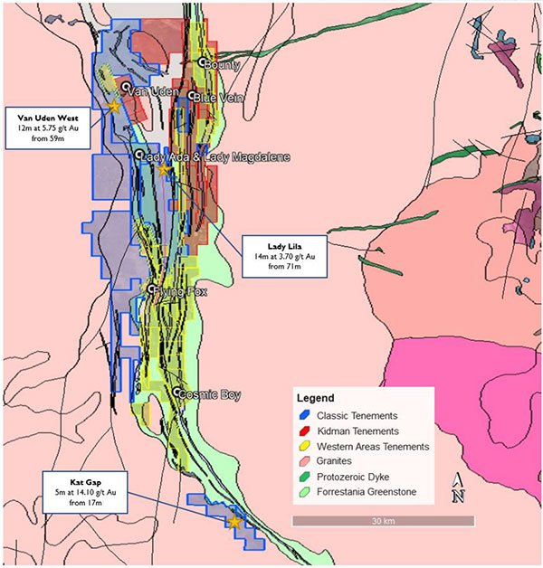Classic minerals forrestania gold project