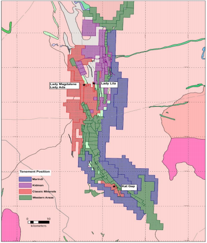 Kat Gap adjoins the Forrestania Nickel project currently operated by Western Areas.