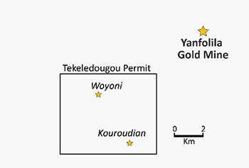 Yanfolia tekeledougou permit