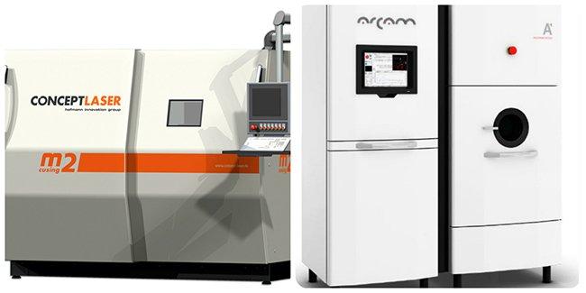 CSIRO 3D printers