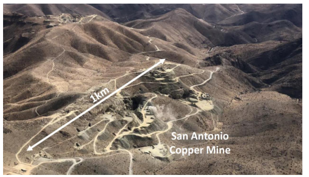 The San Antonio copper mine
