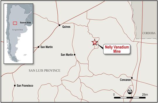 Hardey pens agreement to acquire established vanadium mine