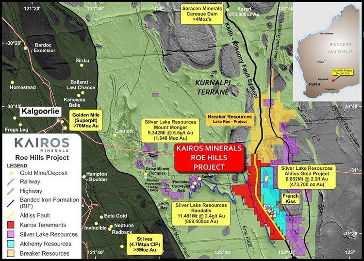 Roe Hills project