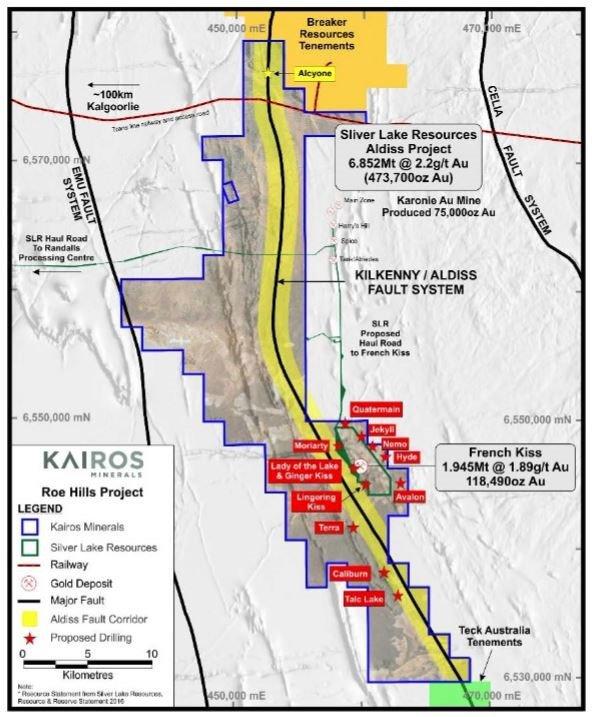 roe hills project drilling program
