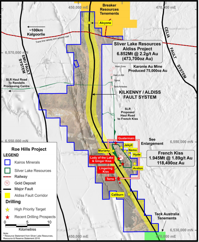 roe hills mining project