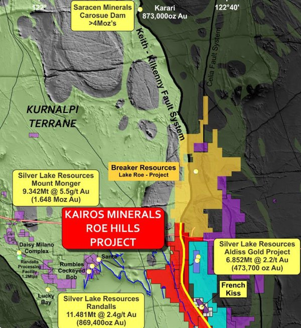 Is Kairos Minerals another Breaker Resources in the making?