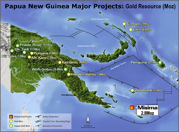 misima gold project PNG