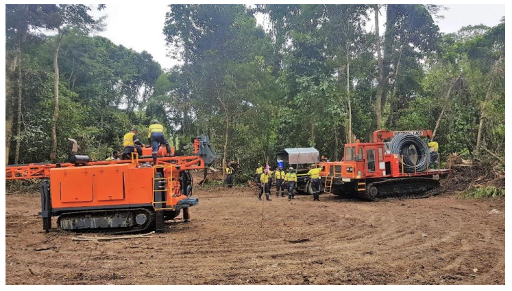Misima project phase 1 drilling