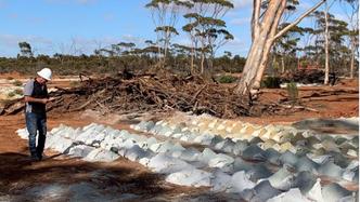 Drill rig back at Classic Minerals' Kat Gap gold project