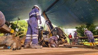 Los Cerros begins drilling newly identified target