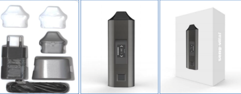 The Seng-Vital Cannamed 'smart' bluetooth vaporiser and accessories integrated system