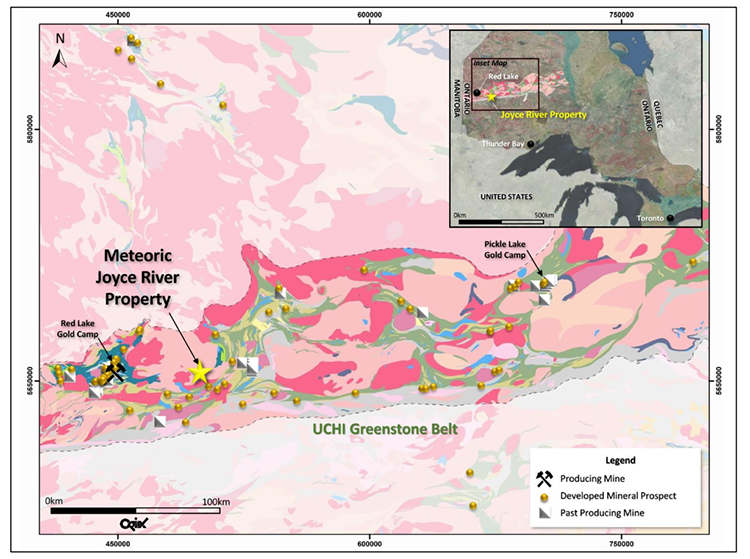 Geology and Structure of the Joyce River Cobalt Project