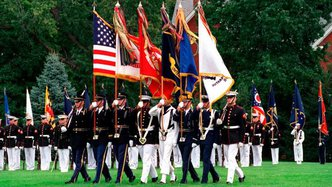 Activistic signs largest military officers' organisation in the US