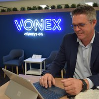 Vonex CEO, Matt Fahey.