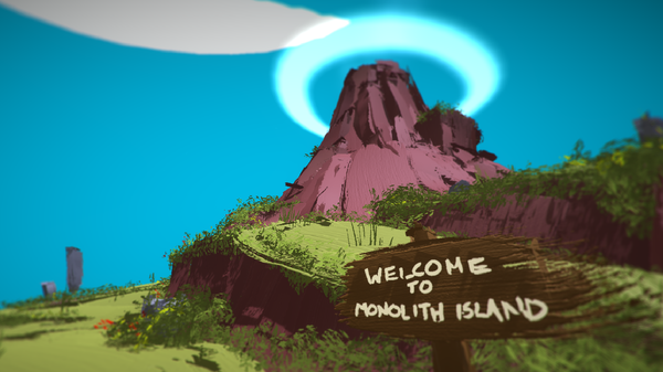 Welcome to Monolith Island: you're doomed (Source: Phil Fish)