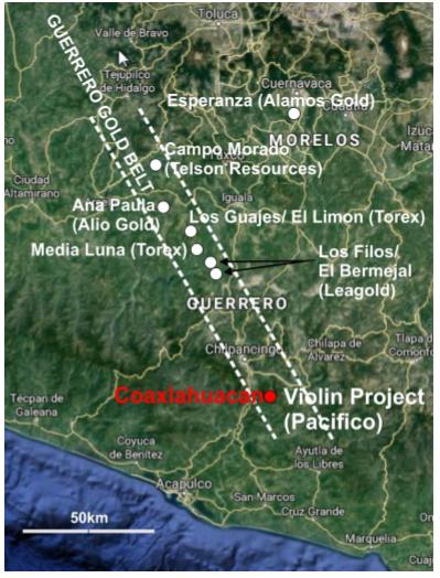 mexico gold mining