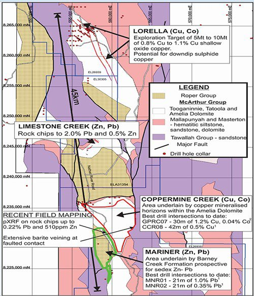 lorella mine project