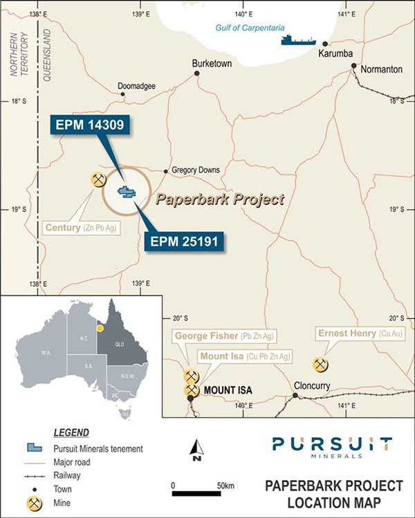 paperbark mining project
