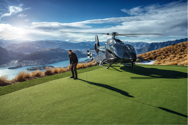 Pic Courtesy Over The Top Helicopters and 100% Pure NZ.