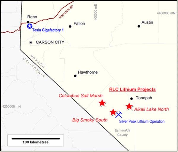 RLC map
