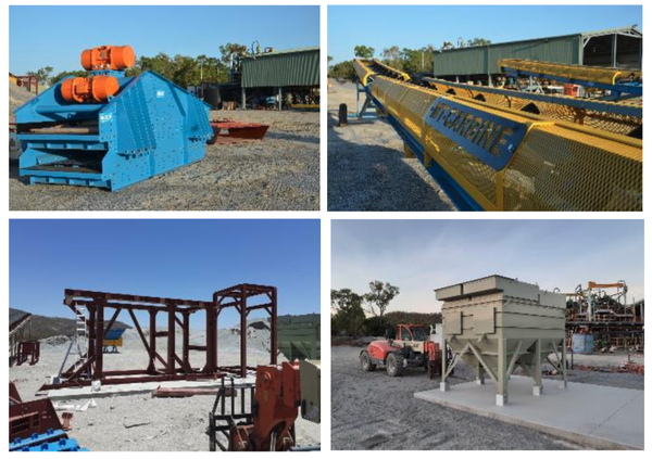 Speciality Metals has now moved all equipment to the Mt carbine tungsten site.