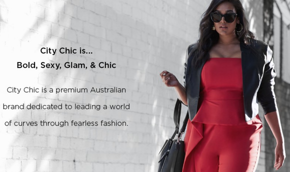 46007e8f72 City Chic's targeted clientele are customers seeking out fashionable and  curvy apparel, a growing market, but one where supply still falls short of  demand.