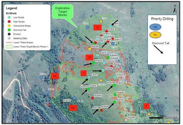 stonewall resources drill hole targets
