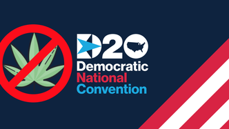 No mention of cannabis legalisation at US Democrat National Convention