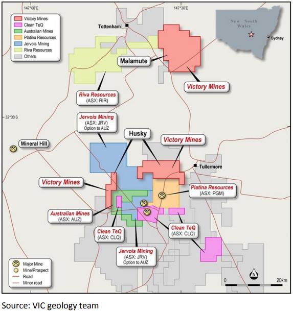 husky mining tenement NSW