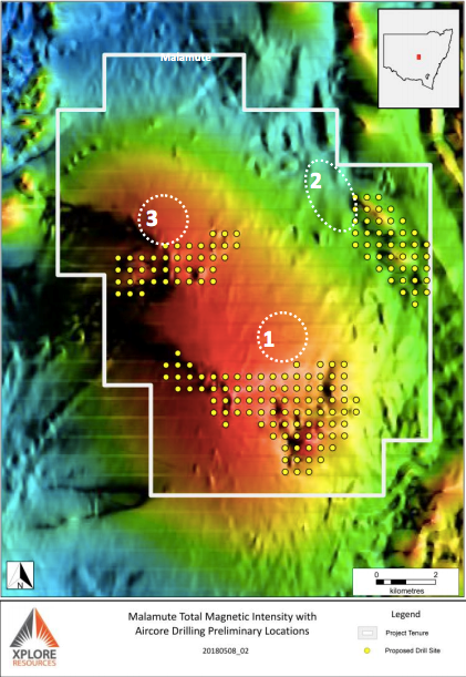 Malamute magnetic density