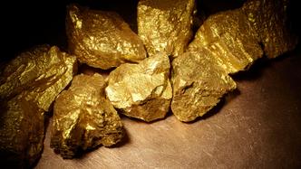 White rock minerals gold