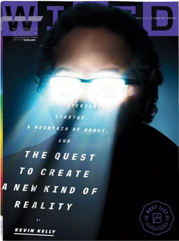 Ray Abovitz appeared on the cover of Wired
