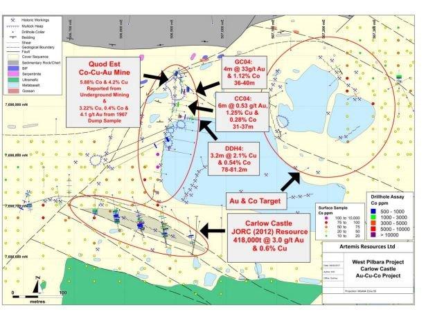 ARV Artemis map